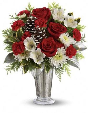 Teleflora\'s Timeless Cheer Bouquet