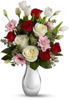 Love Forever Bouquet with Red Roses
