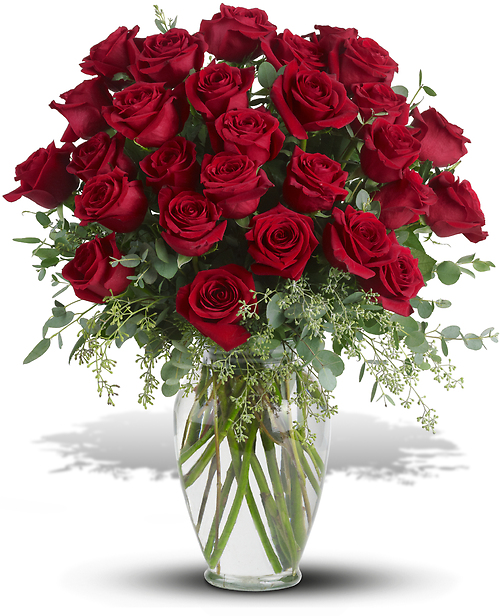 Forever Beloved - 30 Long Stemmed Red Roses